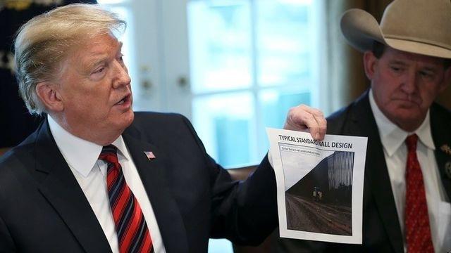 Bức tường biên giới của ông Trump và nỗi lo năng lực quân sự Mỹ bị suy yếu - 1