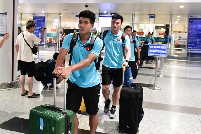 Đội tuyển U22 Việt Nam về nước sau trận thắng ấn tượng U22 Trung Quốc - 2