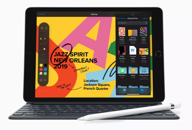 iPad 10.2-inch thế hệ mới có màn hình Retina, mạnh gấp đôi PC, giá chưa đến 8 triệu đồng - 1