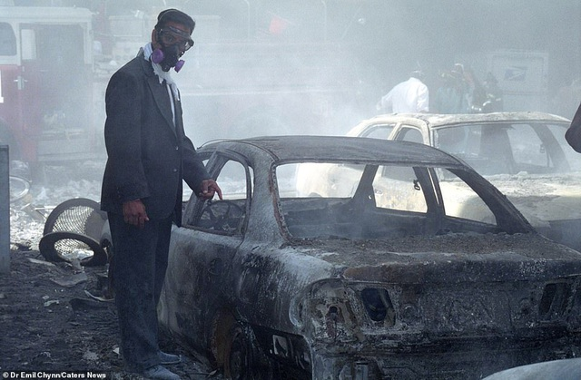 Hình ảnh lần đầu công bố về hiện trường thảm khốc vụ khủng bố 11/9 - 8