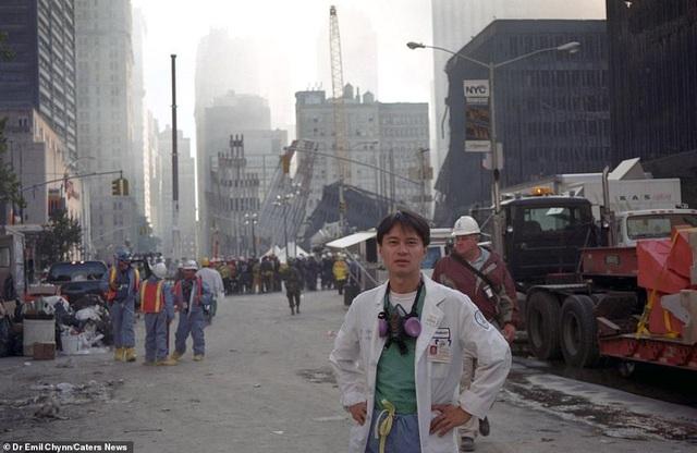 Hình ảnh lần đầu công bố về hiện trường thảm khốc vụ khủng bố 11/9 - 10