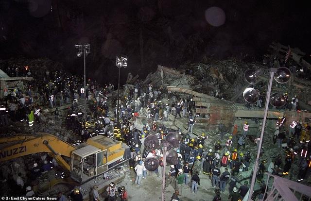 Hình ảnh lần đầu công bố về hiện trường thảm khốc vụ khủng bố 11/9 - 5