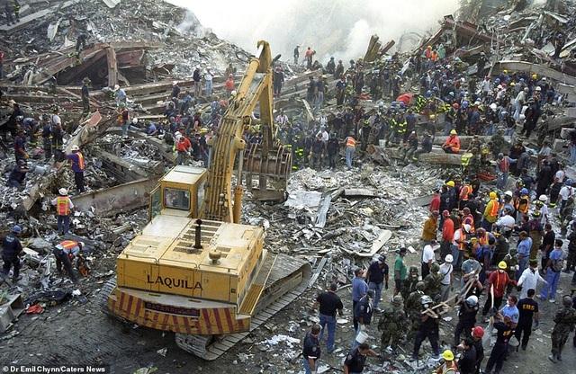 Hình ảnh lần đầu công bố về hiện trường thảm khốc vụ khủng bố 11/9 - 3