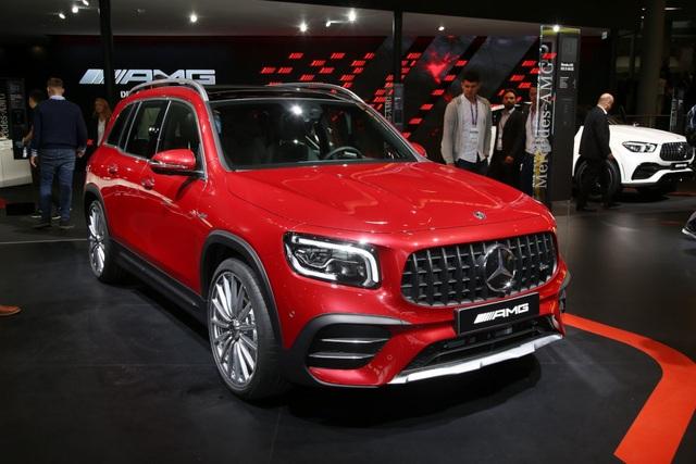 Mercedes-AMG GLB 35 gia nhập phân khúc SUV cỡ nhỏ - 20