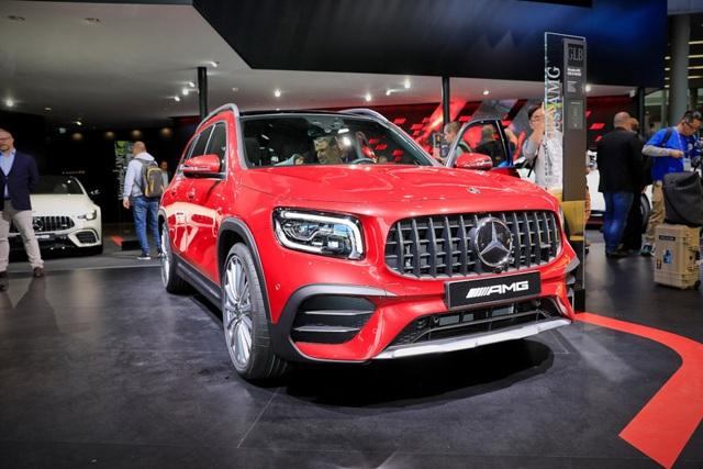 Mercedes-AMG GLB 35 gia nhập phân khúc SUV cỡ nhỏ - 1