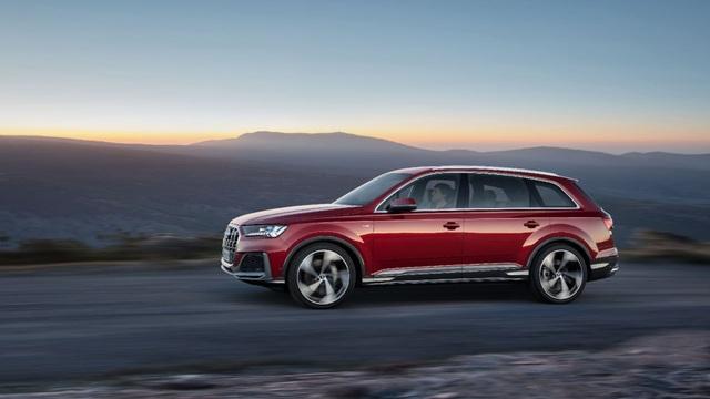 Diện kiến Audi Q7 phiên bản nâng cấp - 5