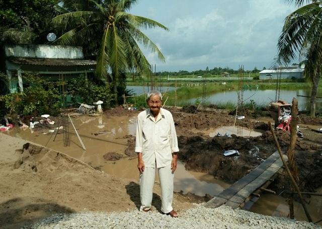 """Sóc Trăng: Dân bị chính quyền """"làm khó"""" khi xây nhà trên đất của mình - 3"""