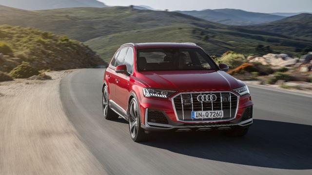 Diện kiến Audi Q7 phiên bản nâng cấp - 2