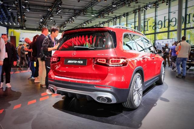 Mercedes-AMG GLB 35 gia nhập phân khúc SUV cỡ nhỏ - 7