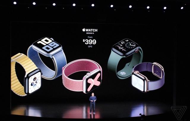 Apple Watch Series 5 chính thức ra mắt, khai tử Series 4 - 1