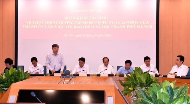 Hà Nội: 59.000 người nhận lương hưu, trợ cấp BHXH qua hệ thống bưu điện - 1
