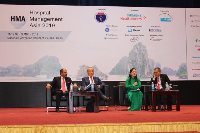 Bộ trưởng Y tế khoe những tiến bộ vượt bậc của nền y tế Việt Nam trước hàng nghìn đại biểu quốc tế - 1