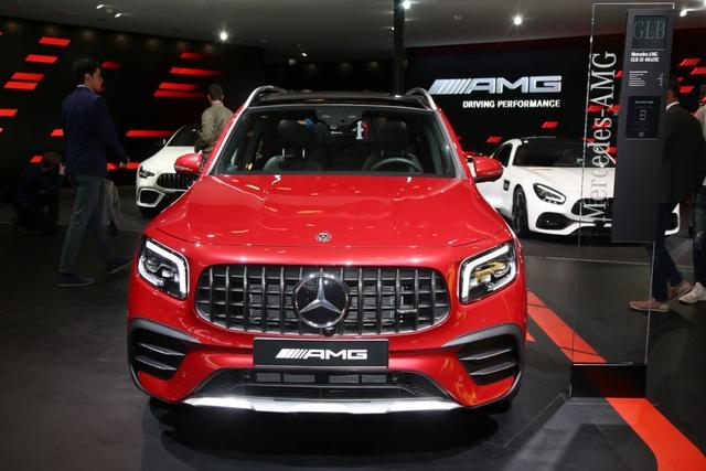 Mercedes-AMG GLB 35 gia nhập phân khúc SUV cỡ nhỏ - 18