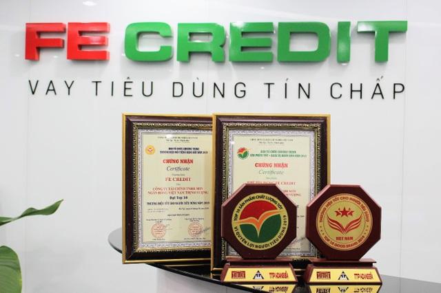 FE Credit lọt top 10 hàng việt tốt vì quyền lợi người tiêu dùng 2019 - 1