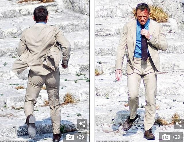 Điệp viên 007 Daniel Craig đọ vẻ điển trai bên người đóng thế - 5