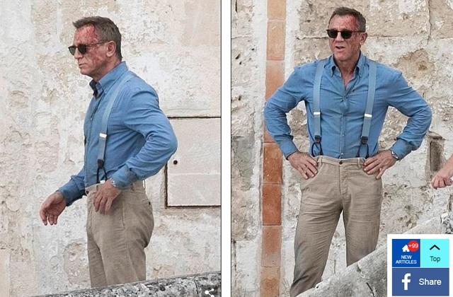 Điệp viên 007 Daniel Craig đọ vẻ điển trai bên người đóng thế - 4
