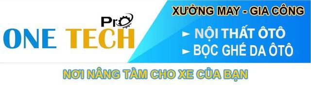 One Tech Pro - Thương hiệu bọc ghế da ô tô hàng đầu Việt Nam - 1