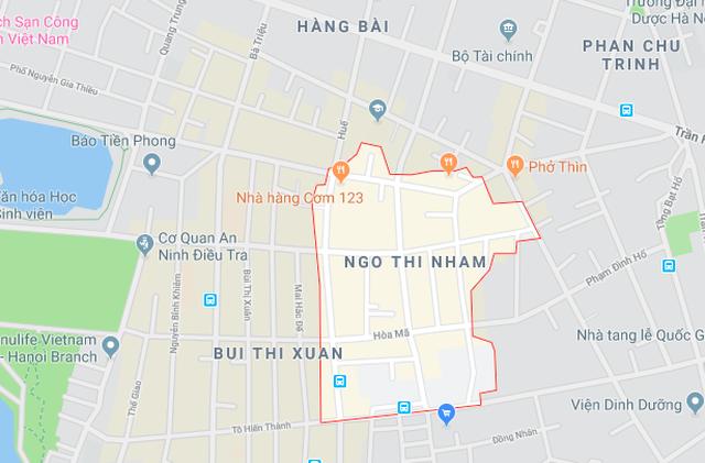 Hà Nội dự kiến sáp nhập phường Nguyễn Du với phường Bùi Thị Xuân - 1