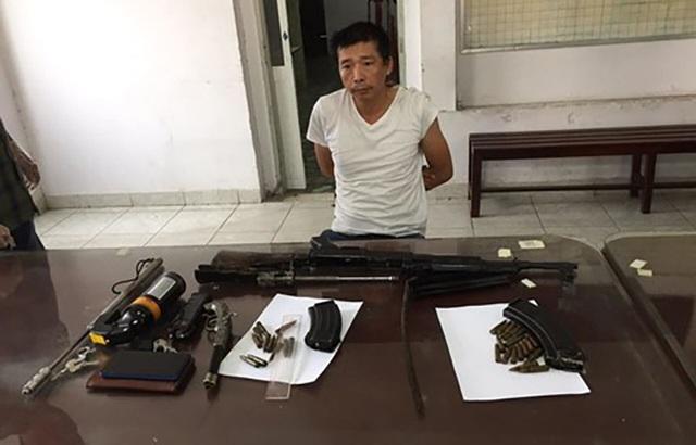 Mang súng K56 cùng 29 viên đạn đi bán thì gặp… cảnh sát hình sự - 1