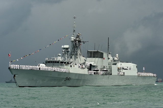 Canada điều tàu chiến qua Eo biển Đài Loan giữa lúc căng thẳng - 1
