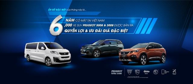 Peugeot ưu đãi giá lên đến 50 triệu và nhiều quyền lợi hấp dẫn khác - 1