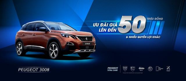 Peugeot ưu đãi giá lên đến 50 triệu và nhiều quyền lợi hấp dẫn khác - 2