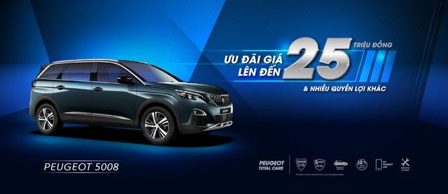 Peugeot ưu đãi giá lên đến 50 triệu và nhiều quyền lợi hấp dẫn khác - 3