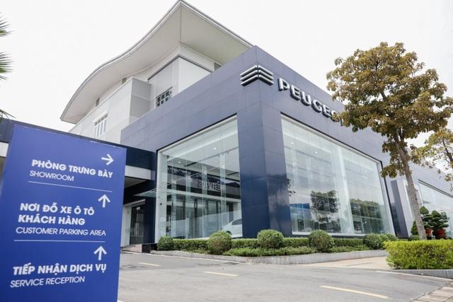 Hệ thống showroom Peugeot chuẩn 3S toàn cầu tại Việt Nam - 1