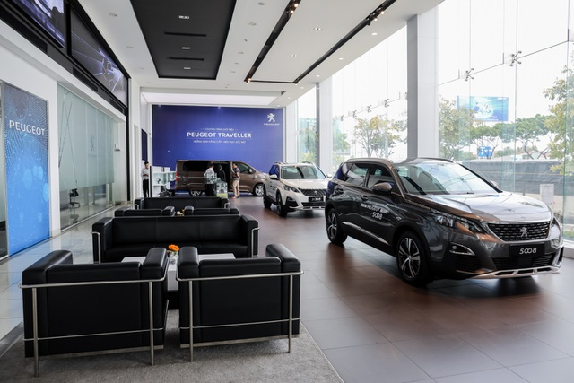 Hệ thống showroom Peugeot chuẩn 3S toàn cầu tại Việt Nam - 4