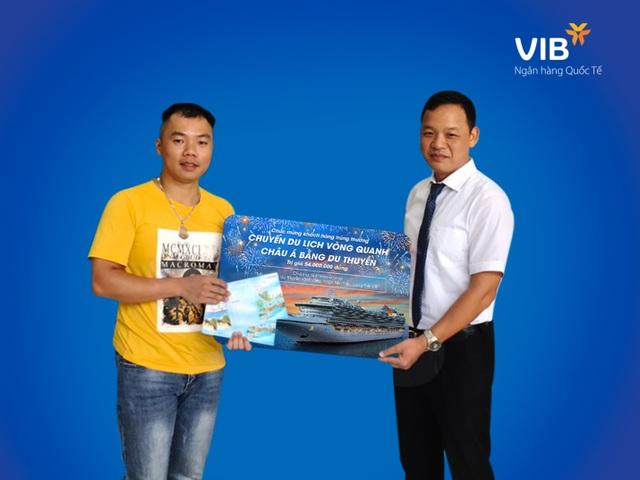 Chủ thẻ tín dụng VIB thứ 3 trúng cặp vé du thuyền châu Á - 2