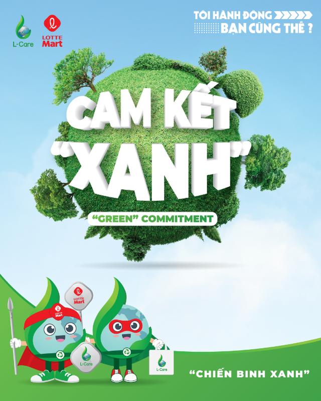 """Lotte Mart và chiến dịch """"Cam kết Xanh"""" kêu gọi sự chung tay bảo vệ môi trường - 1"""
