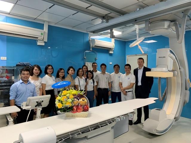 Philips chuyển giao công nghệ chụp mạch hiện đại tại Bệnh viện Việt Đức - 4