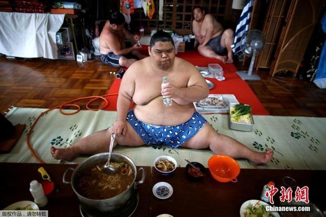 Cuộc đời của một võ sĩ Sumo: Kỷ luật thép, bữa ăn khổng lồ và giấc ngủ với... bình oxy - 2