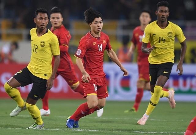 Đội tuyển Việt Nam gặp khó khăn trước đại chiến với Malaysia - 1