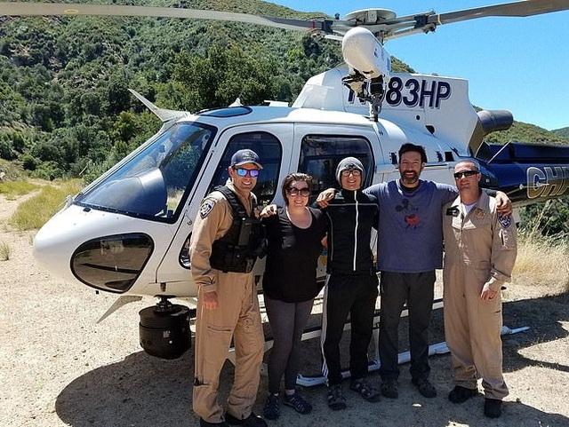 Mắc kẹt ở thác nước, du khách được giải cứu nhờ tình tiết gay cấn như phim - 4