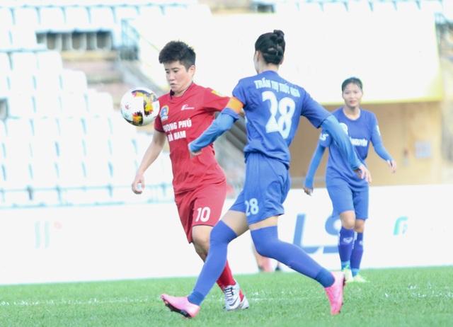 Không có bất ngờ ở lượt trận khai màn lượt về giải bóng đá nữ vô địch quốc gia 2019 - 1