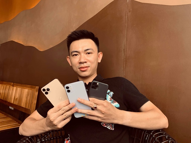 Bộ 3 iPhone 11 bất ngờ xuất hiện tại Việt Nam dù chưa mở bán - 1