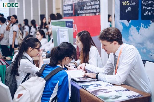 """Cùng INDEC International Fair 2019 """"định vị"""" điểm đến du học phù hợp - 3"""