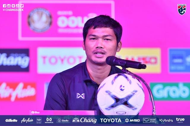 HLV U19 Thái Lan quyết tâm đánh bại U19 Việt Nam - 1