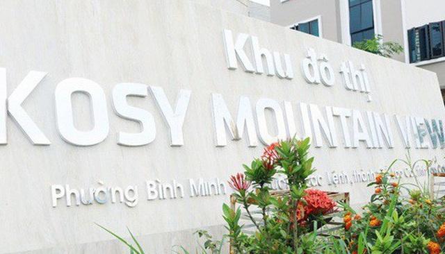 Phó Thủ tướng yêu cầu kiểm tra dự án khu đô thị hơn 400 tỷ đồng của Kosy - 1