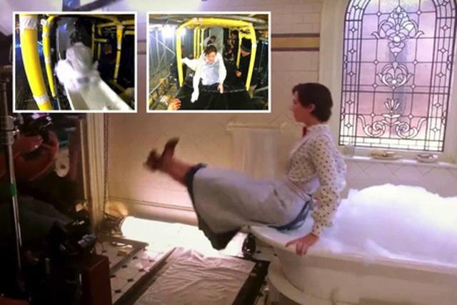 """""""Lật tẩy"""" các bom tấn Hollywood với loạt ảnh hậu trường ấn tượng - 3"""