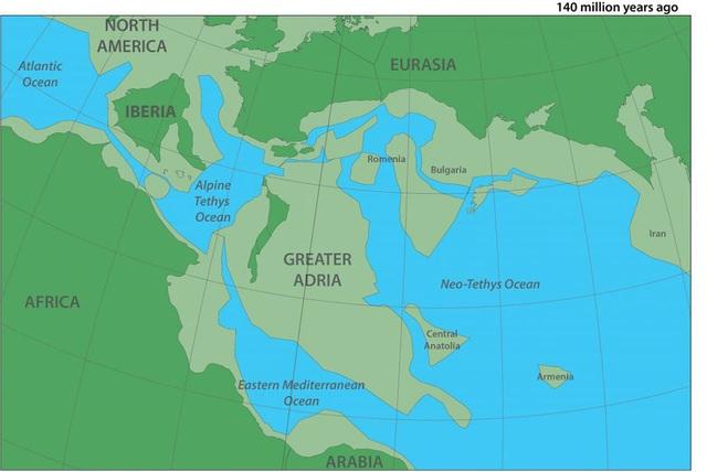 """Tìm ra lục địa cổ đại """"bị mất"""" nằm… bên dưới Châu Âu - 1"""