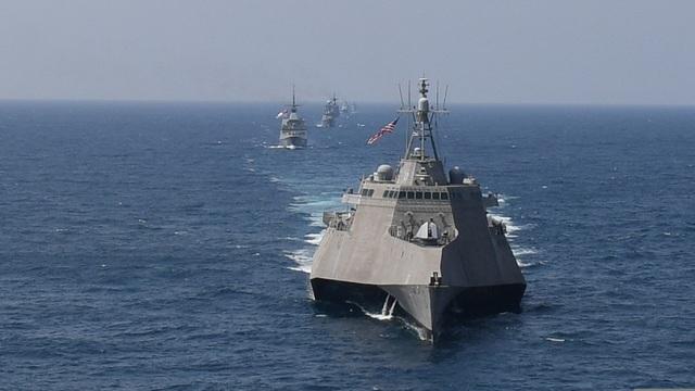 """Tàu chiến Mỹ mang tên lửa """"nắn gân"""" Trung Quốc tại Thái Bình Dương - 1"""