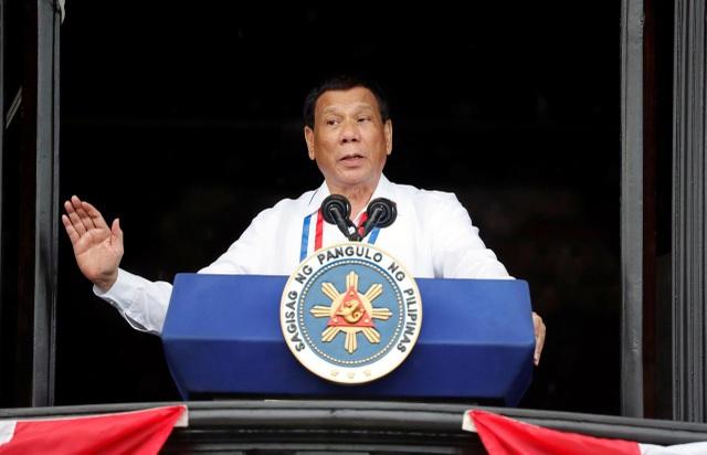 Philippines nói ông Duterte không tính bỏ phán quyết Biển Đông, chỉ