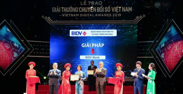 BIDV - Doanh nghiệp chuyển đổi số xuất sắc - 1