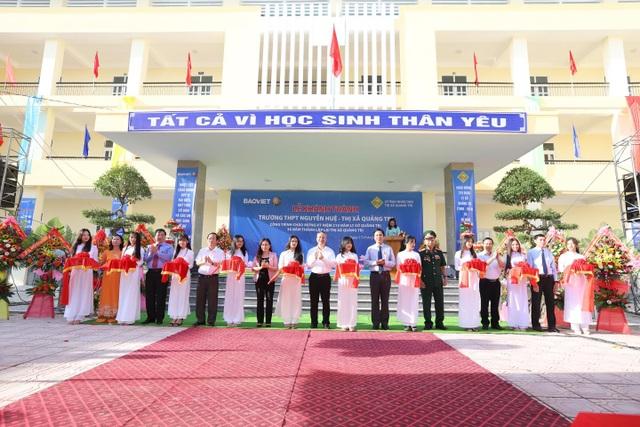 Tập đoàn Bảo Việt đồng hành cùng thế hệ trẻ Việt Nam dịp khai trường, xây dựng trường học tại Quảng Trị - 2