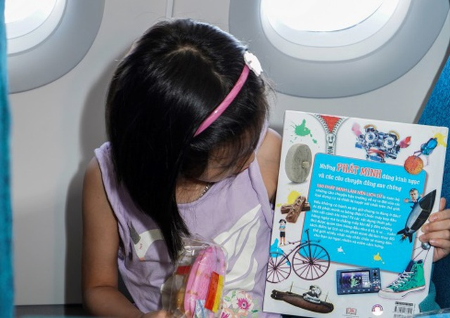 Tết Trung Thu của những nhóc tỳ đáng yêu trên máy bay - 8