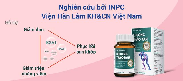 Việt Nam vừa chiết xuất thành công hoạt chất mới giúp giảm bệnh xương khớp - 4
