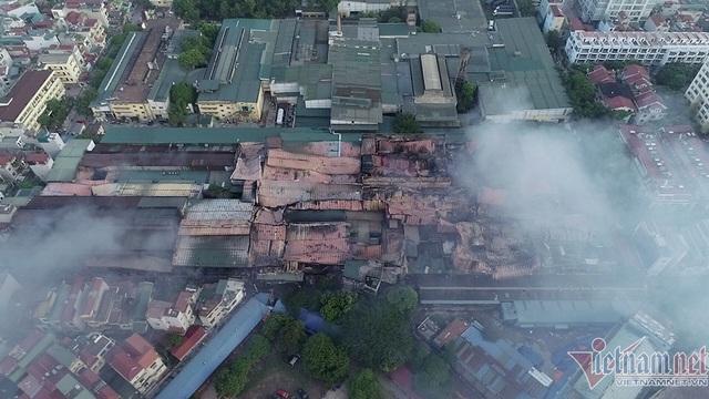 Cháy nhà máy Rạng Đông: Phát lộ việc xin chuyển đổi đất không thành - 1