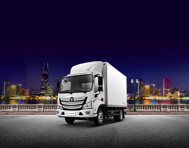 Foton M4 - Xe tải cao cấp thế hệ mới của liên doanh Daimler-Foton - 1